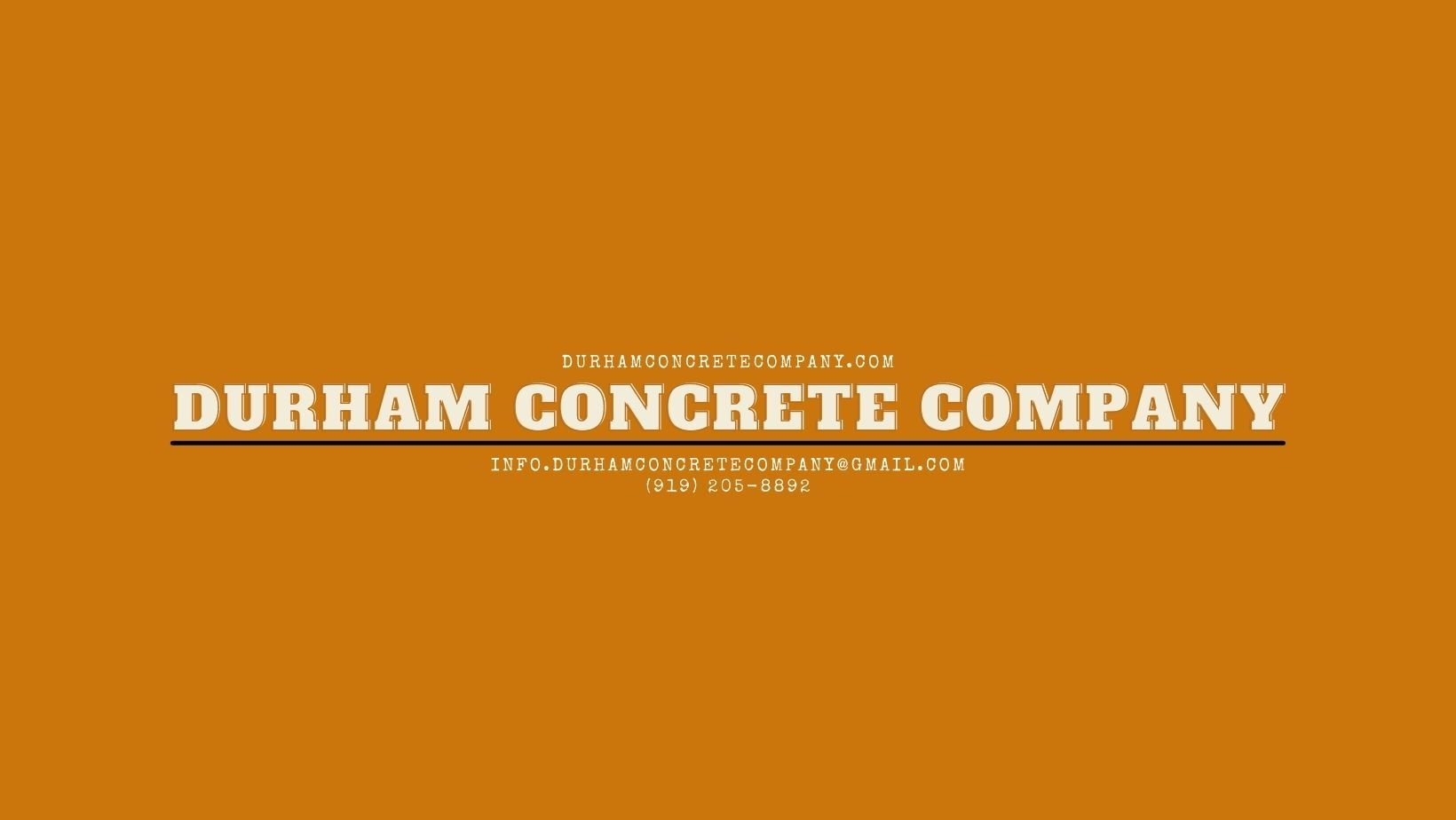 Durham Concrete Company (@durhamconcrete) Cover Image