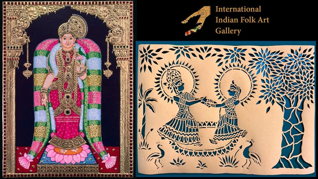 Indian Folk art (@indianfolkartonline) Cover Image