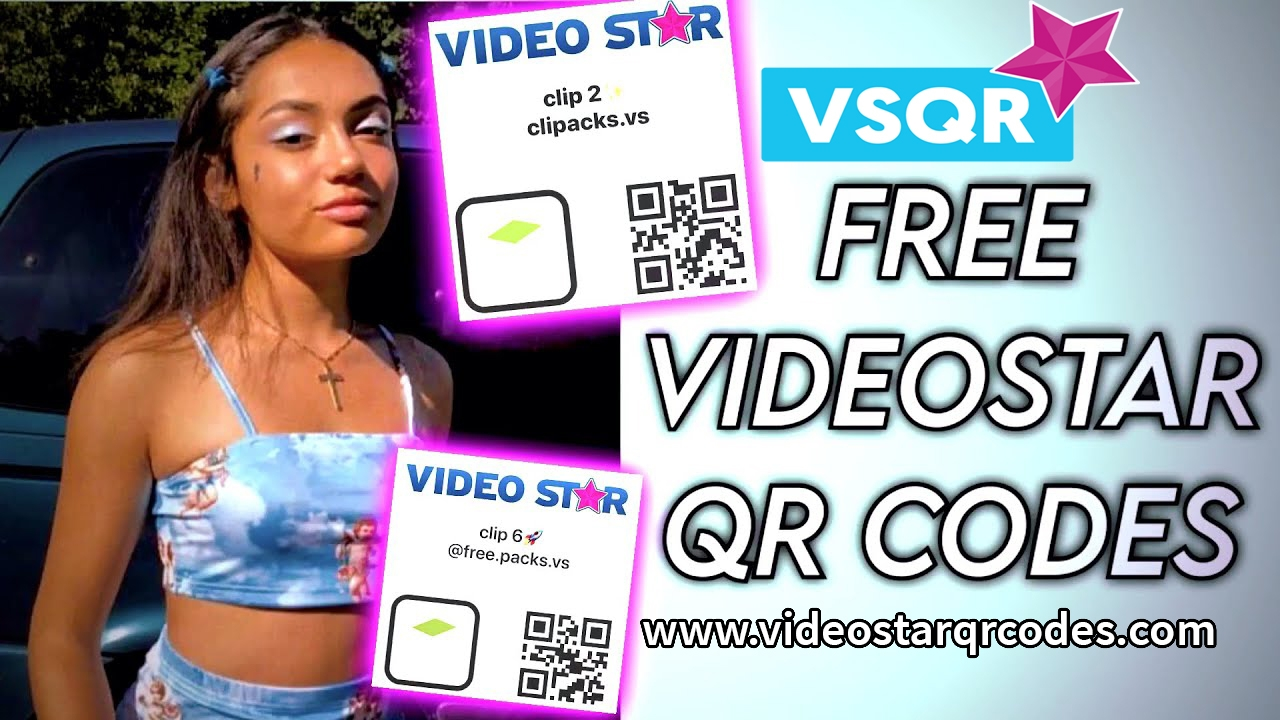 video star qr codes (@videostarqrcodes) Cover Image