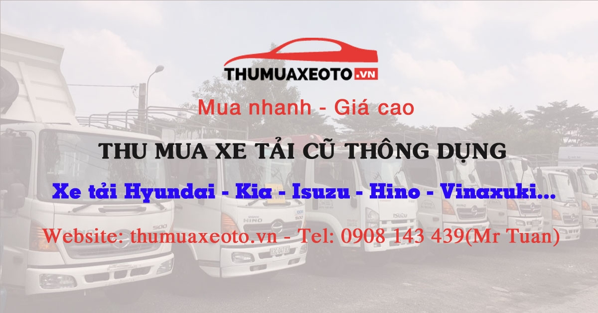 Xe tải cũ Anh T (@thumuaxeoto) Cover Image