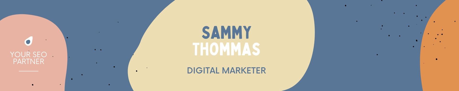 Sammy Thomas (@sammythomas143) Cover Image