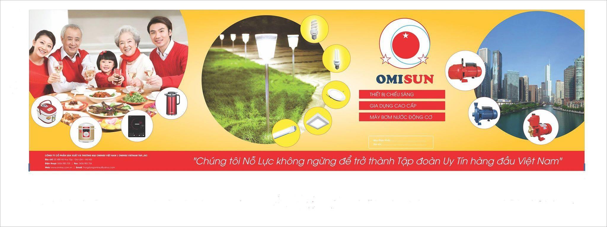 Đèn led chiếu sáng Omisun (@omisun) Cover Image
