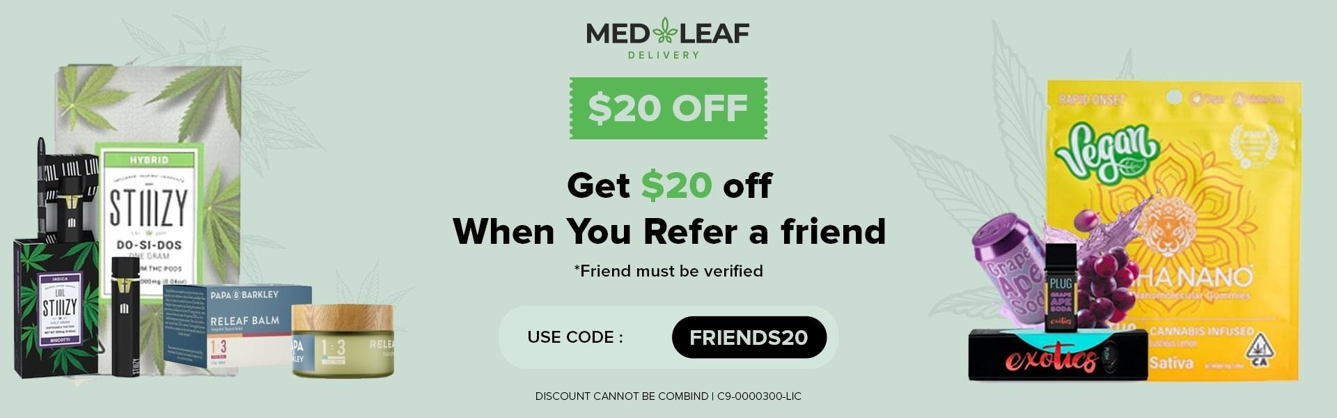 MedLeaf Cannabis Delivery (@medleafdelivery) Cover Image