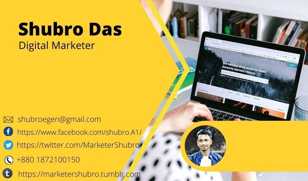 Shubro Das (@marketershubro) Cover Image