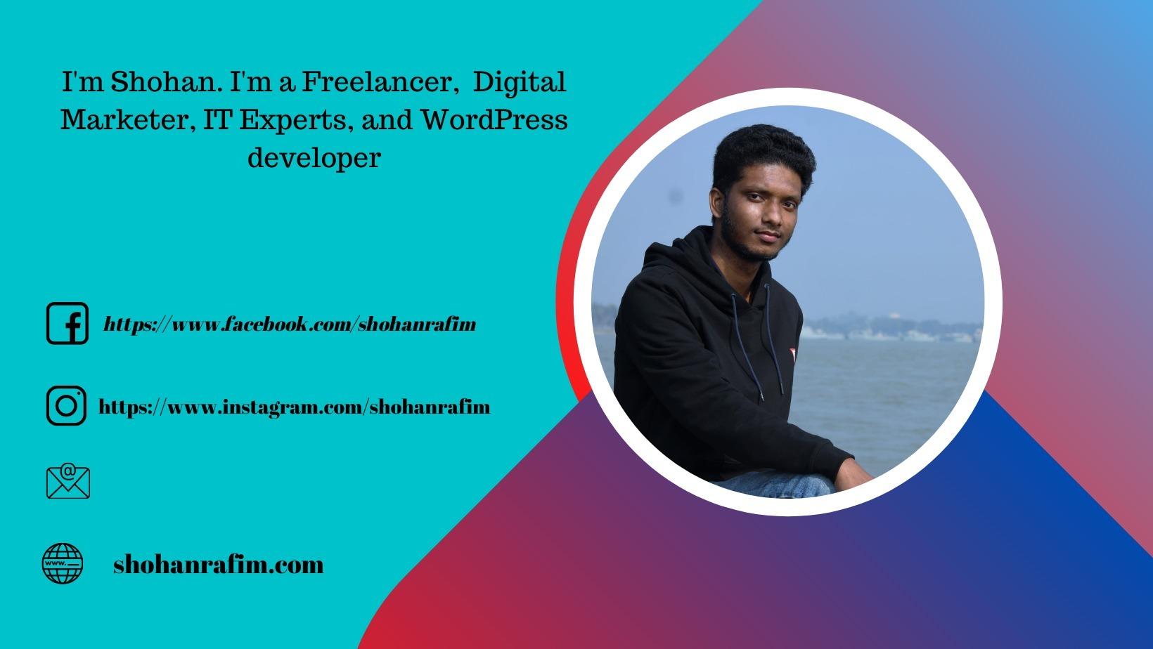 Shohanur Rahman (@shohanrafim) Cover Image