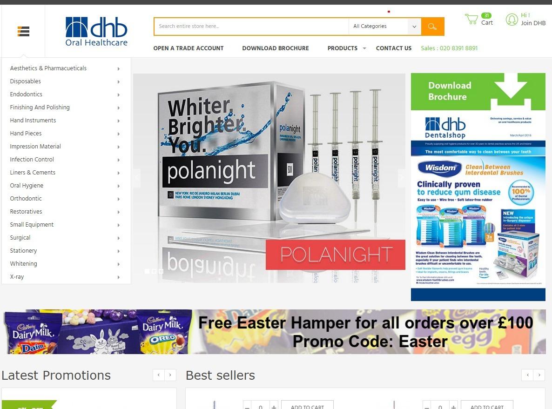 DHB Oral Healthcare Ltd (@dhboralhealth) Cover Image