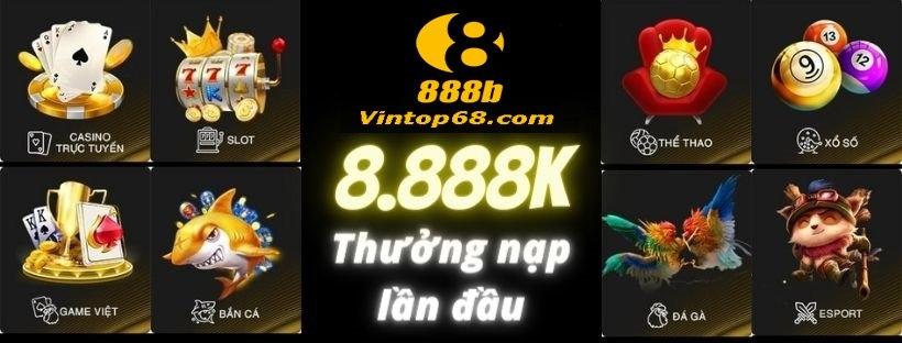 Nhà Cái 888b (@888b_vintop68) Cover Image