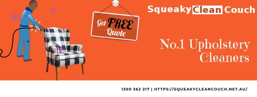 Squeaky Clean Couch - Couch Cleaning Canberra (@squeakycouchcleaningcanberra) Cover Image