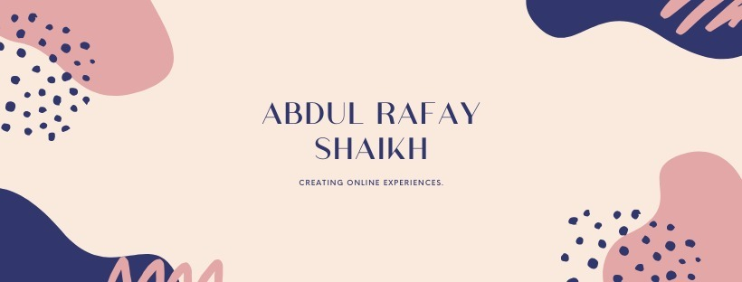 Abdul-Rafay Shaikh (@arafays) Cover Image
