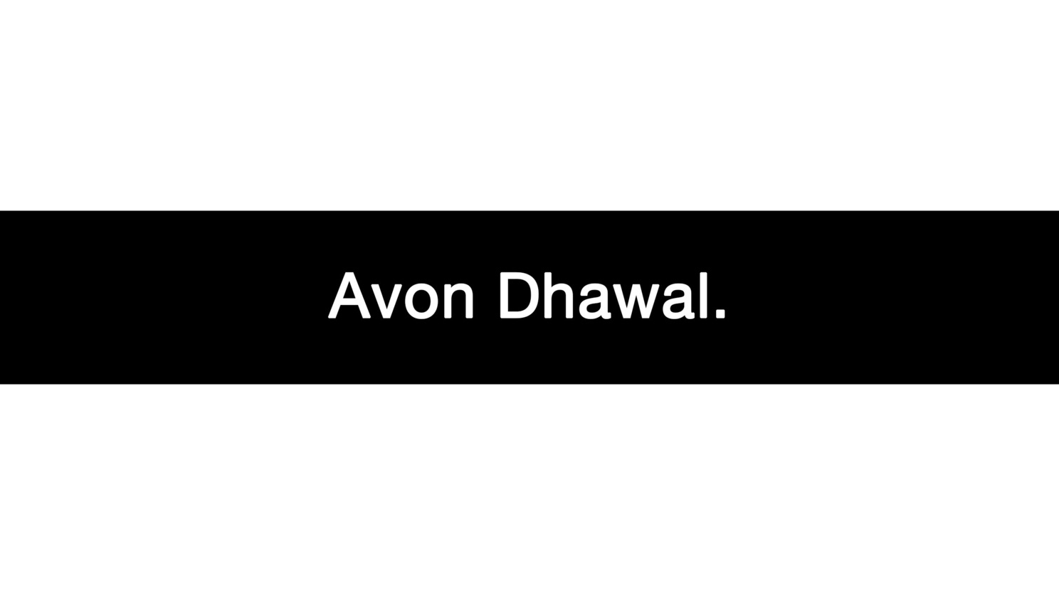 Avon (@avondhawal) Cover Image