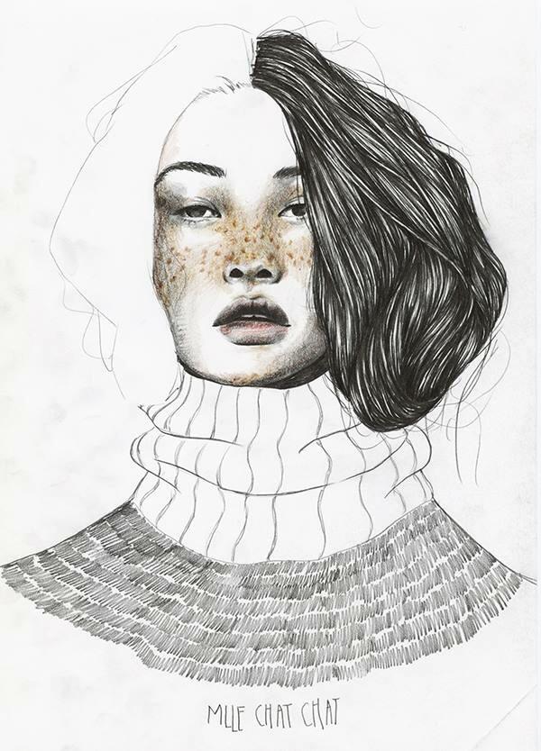 Céline Morawski  (@mllechatchat) Cover Image